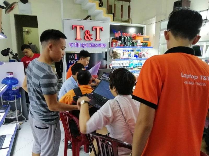 Cửa hàng bán laptop giá rẻ Đà Nẵng