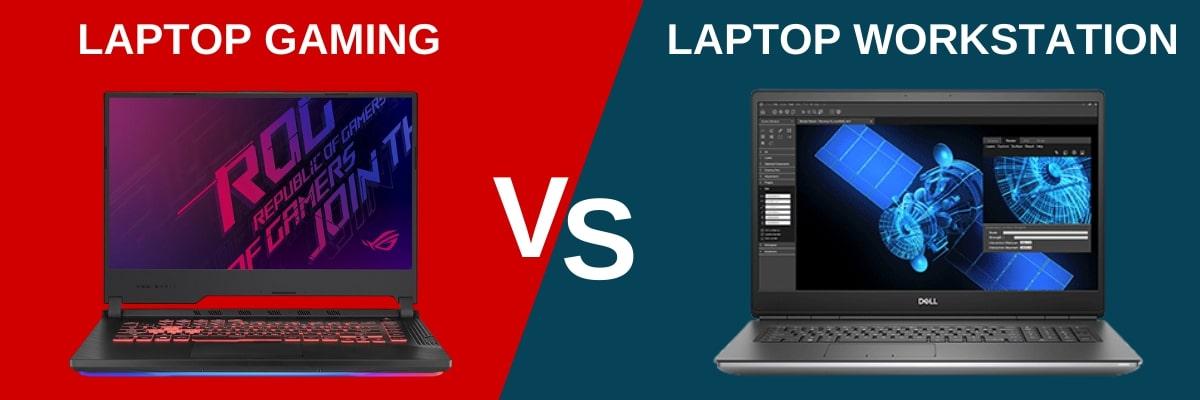 Phân biệt laptop chơi game và laptop máy trạm