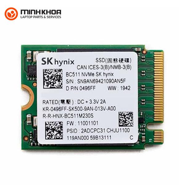 Ổ cứng Laptop SSD Hynix BC511 M2-NVMe 256GB