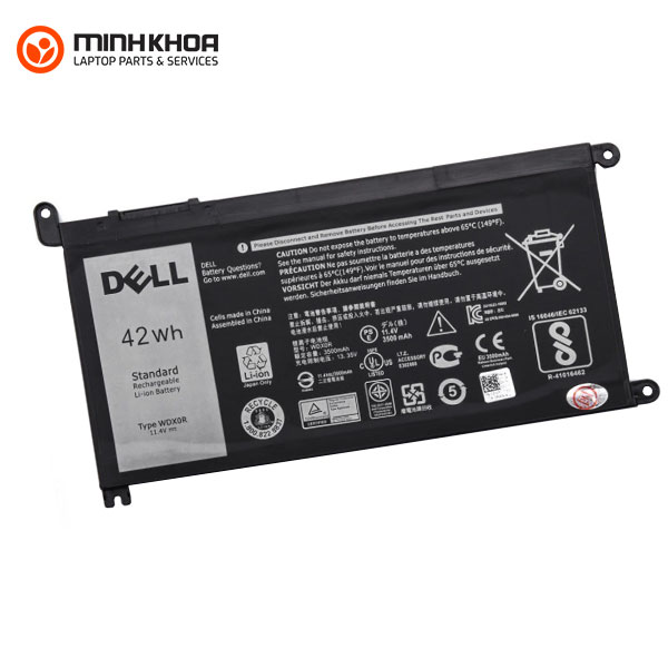 Pin laptop Dell 5567 5568 5378 7368 7460 ( WDXOR Zin)