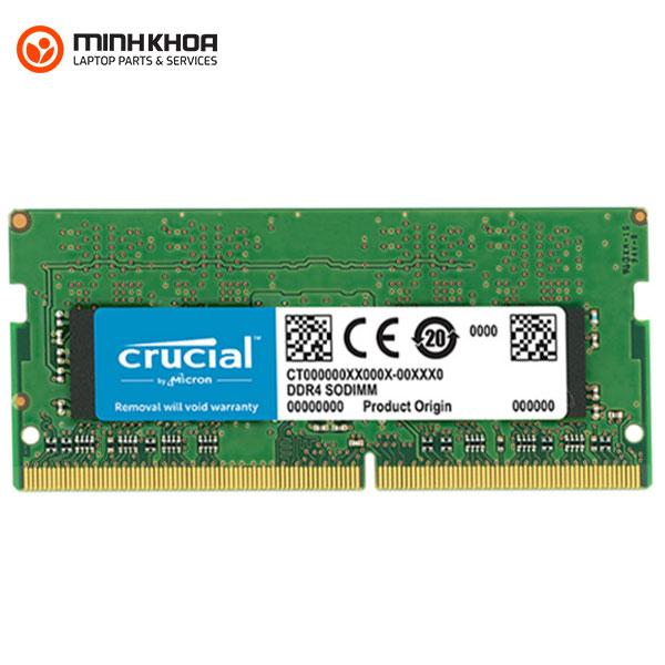 Bán Ram laptop Crucial DDR4 16Gb bus 2133MHz giá rẻ