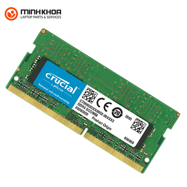 Ram laptop ddr4 16gb bus 2666 Crucial đà nẵng