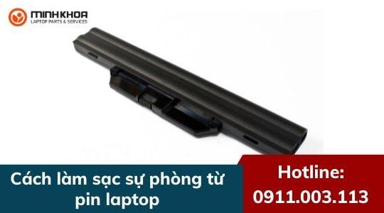 Cách làm sạc dự phòng từ pin laptop có sẵn