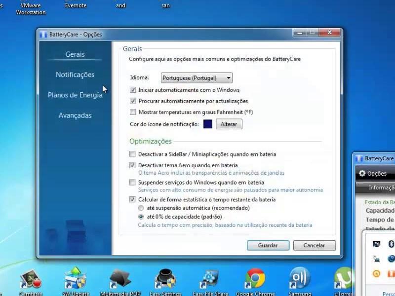 Tải phần mềm theo dõi và chăm sóc pin laptop