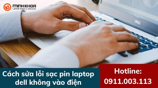 sac pin laptop dell khong vao dien