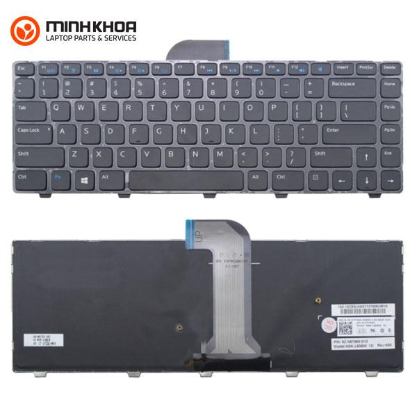Bàn phím laptop Dell Inspiron 14 3421 14R 5421 3437 5437