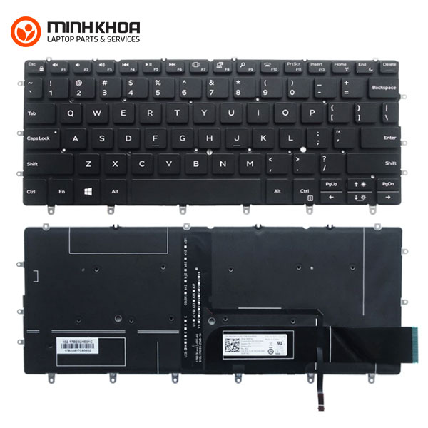 Bàn phím laptop Dell XPS 13 9370