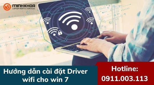 3 cách cài Driver Wifi Win 7 đơn giản