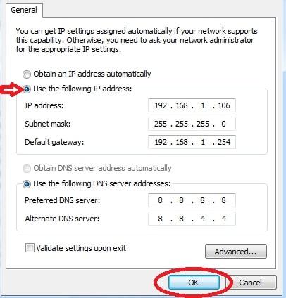 Cách khắc phục lỗi wifi bị limited access win 7 (chấm than vàng)