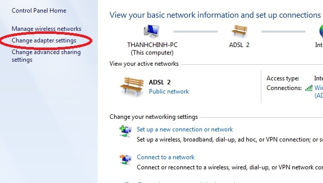 Sửa lỗi wifi bị limited access (chấm than vàng)